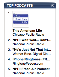RingtoneFeeder is number 4 in the iTunes US Store