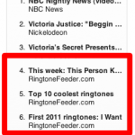 3 positions among the top 10 video podcasts